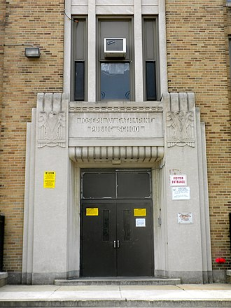 National Register of Historic Places listings in Southwest Philadelphia - Image: Catherine School SW Philly