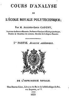 Augustin Louis Cauchy Wikipedia