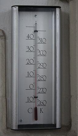CelsiusKelvinThermometer