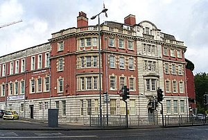 English: Centenary House - North Street This h...