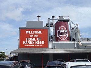 Barbadian cuisine - Banks beer brewery