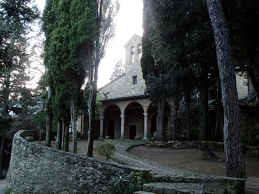 Cetona, Eremo Santa Maria In Belverde