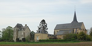 Château-l'Hermitage - The old priory
