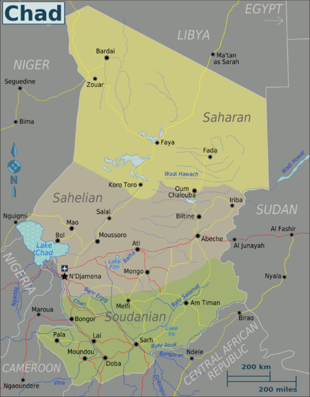 Chad Travel guide at Wikivoyage
