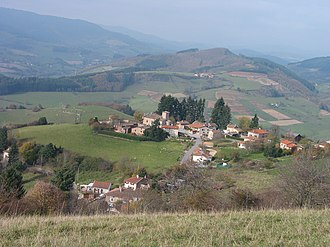 Chambost-Allières - A general view of Chambost-Allières
