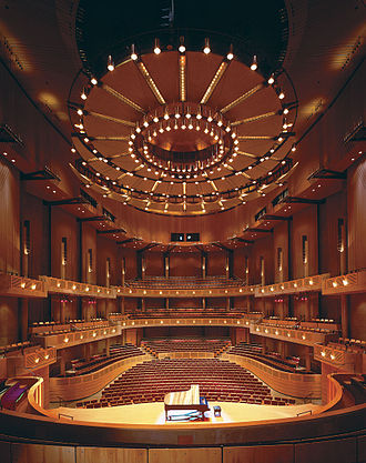 Bing Thom - Chan Centre for the Performing Arts – Concert Hall in Vancouver, British Columbia