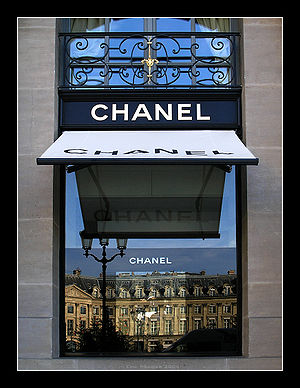 Chanel siege sur la place Vendome