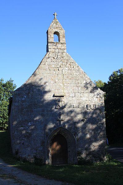 Chapelle Saint-Jacques (Brech): vue générale