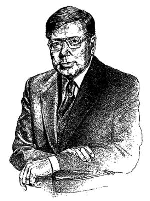Charles Arthur Bowsher - Image: Charles Arthur Bowsher illustration, 1988