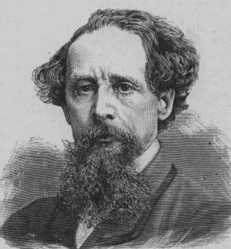 1860 in literature - Charles Dickens, c. 1860