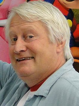 Charles Martinet tijdens Game World in 2010.