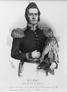 Charles Stewart Todd American army officer and politician