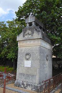 Chasles Michel monument cimetière Saint-Cheron Chartres Eure-et-Loir (France).jpg
