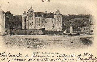 Charles de Montsaulnin, Comte de Montal - The Chateau des Aubues, mid-19th century