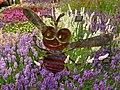 Chelsea Flower show's lavender bee - geograph.org.uk - 1878659.jpg