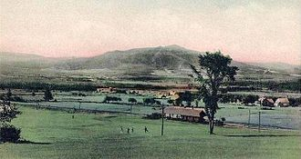 Jefferson, New Hampshire - Cherry Mountain from the Waumbek Hotel, c. 1910
