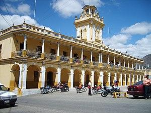 Chiantla - Municipal palace of Chiantla