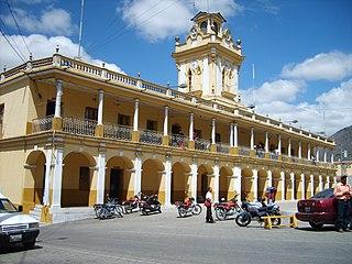 Chiantla Municipality in Huehuetenango, Guatemala