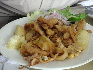 Chicharrón - Chicharrón mixto