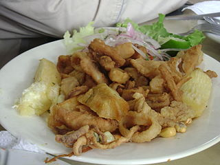 <i>Chicharrón</i> Spanish pork dish
