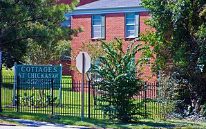 Chickasaw Shipyard Village Historic District - Image: Chickasaw Village Homes 0298