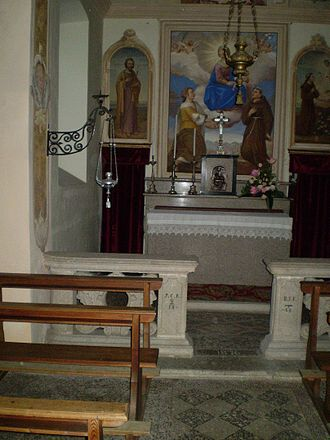 Baveno - Church of Saint Antonio and Fermo