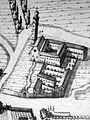 Chiesa di San Bortolo e Convento Olivetani, dettaglio mappa Mortier (Rovigo).jpg