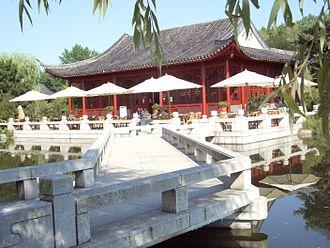 Tea ceremony - Image: Chin Garten Marzahn