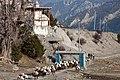 Chorten & Kani (entrance gate) Bragha (4520955926).jpg
