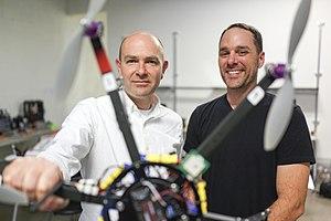 3D Robotics - Image: Chris Anderson & 3D Robotics (8409109253)