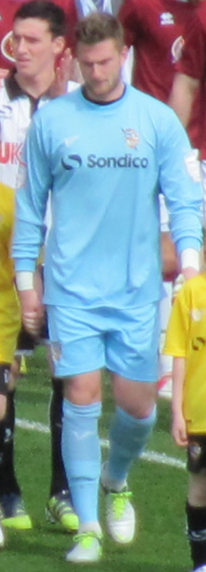 Chris Neal - Neal as a Port Vale player in April 2013.