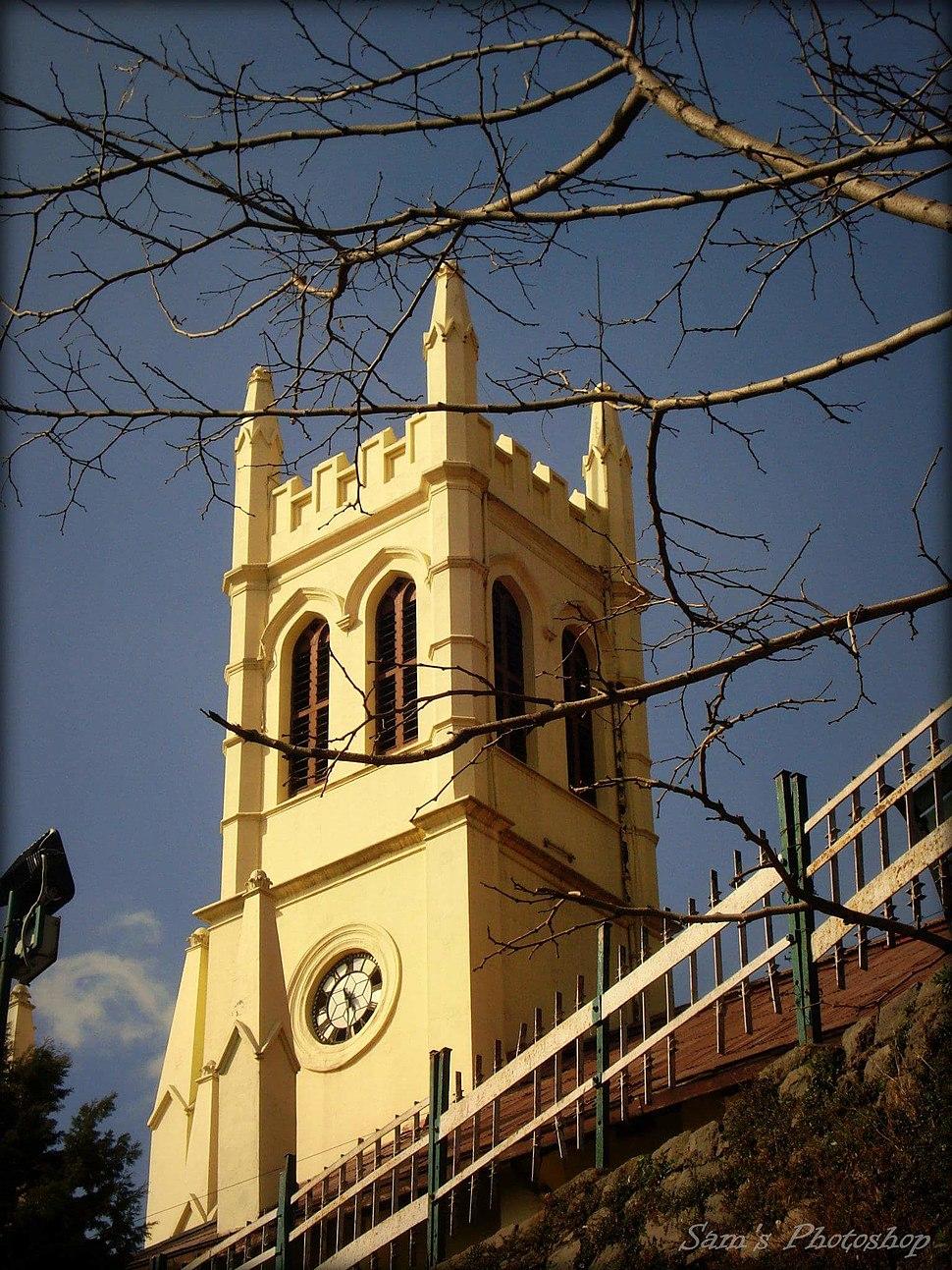 Christ Church Shimla India