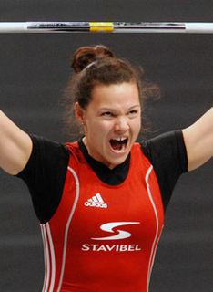 Christine Girard Canadian weightlifter