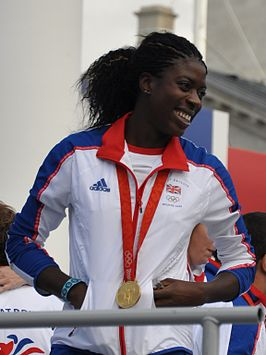 Christine Ohuruogu in oktober 2008