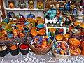 Christmas market 2015 Deák Street. Ceramics. - Budapest.JPG