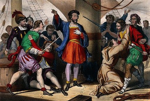 Christopher Columbus Wellcome V0044820
