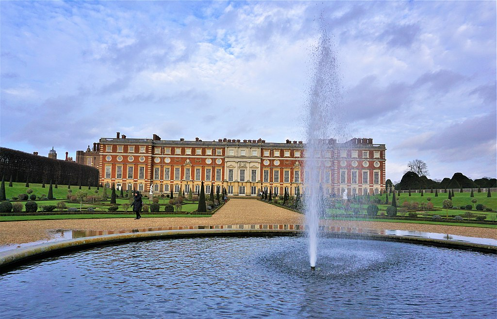 Christopher Wren's South Front - Hampton Court Palace - Joy of Museums