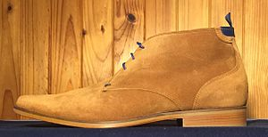 Chukka boot - Chukka boot with leather sole