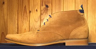 Chukka boot - Chukka boot with leather sole