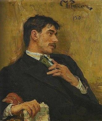Korney Chukovsky - Portrait by Ilya Repin.