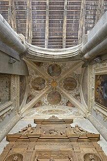 Church San Lorenzo Maggiore Saint Roch chapel overview.jpg