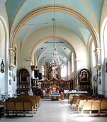 Church of Our Lady of the Snow in Lviv (interior).jpg