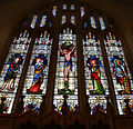 Church of St Christopher, Willingale, Essex, England - interior chancel east window.JPG