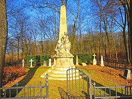 The Prussian military cemetery in Colombey