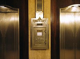 Carew Tower - Image: Cincinnati ohio carew tower elevator lobby
