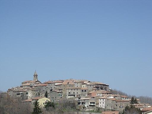 Cinigiano, Monticello Amiata Panorama