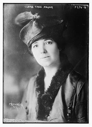 Clare Tree Major - Major circa 1915