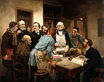 Claude Bernard and his pupils. Oil painting after Léon-Augus Wellcome V0017769.jpg