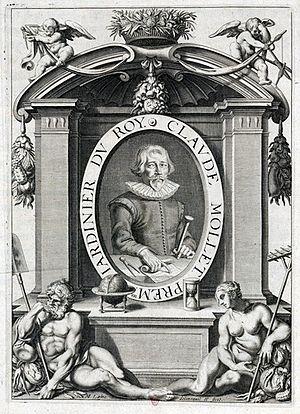 """Claude Mollet - Claude Mollet from André Mollet's """"le Jardin de Plaisir"""""""