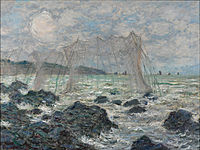 Claude Monet - Fishing nets at Pourville - Google Art Project.jpg